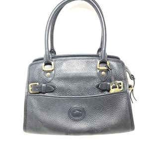 Dooney Bourke Vintage Buckle Satchel